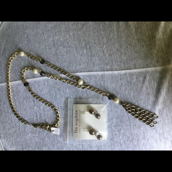 Fashion Necklaces & Pendants necklace pendant watch lia sophia women jewelry sets silver tone drop earrings opal necklace pendant